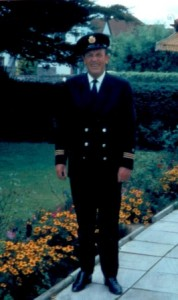 Bill Inman in British Airways uniform