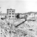 Bombing destruction at Marsa