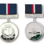Malta George Cross 50th Anniversary Medal