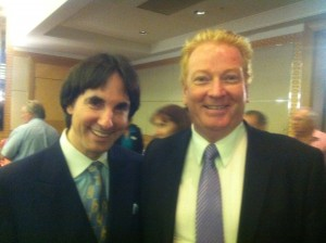 Tony Inman with Dr John Demartini