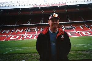 Tony at Old Trafford 2002
