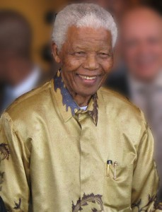 Nelson Mandela - Former President of South Africa