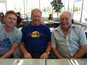 Craig, Tony & Peter Inman