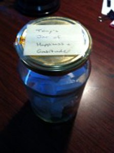 Jar of Happiness & Gratitude
