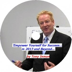 Tony Inman talks about success