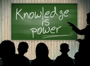'Knowledge is power' - but only if used!