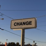 Change allows us to make way for the new