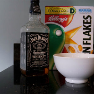 bourbon-on-cereal