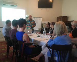Tony Inman runs workshops in a host of topics, including Neuro Linguistic Programming (NLP)